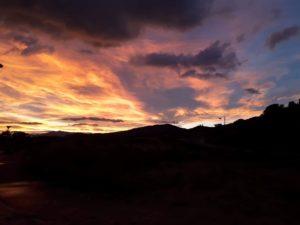 living apart together, alicante sunset
